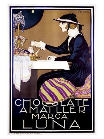Chocolate Amatller, Luna