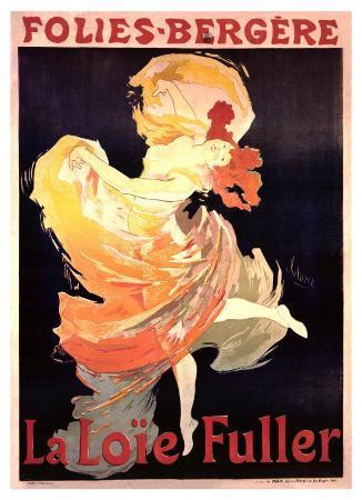 Folies Bergere, La Loie Fuller