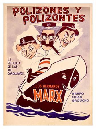 Marx Brothers, Polizones y Polizones