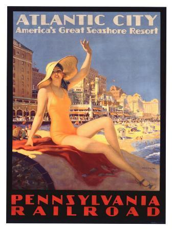 Pennsylvania Railroad, Atlantic City