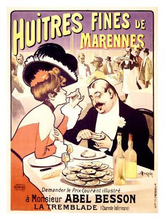 Huitres Fines de Marennes