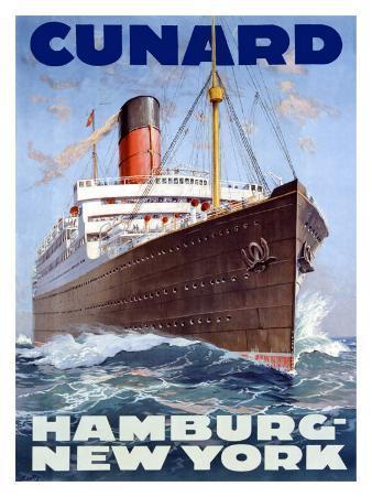 Cunard Line, Hamburg to New York