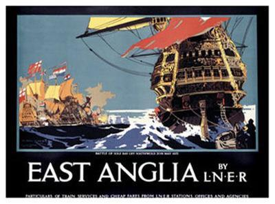 East Anglia by L.N.E.R.
