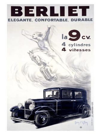Auto Berliet, La 9CV