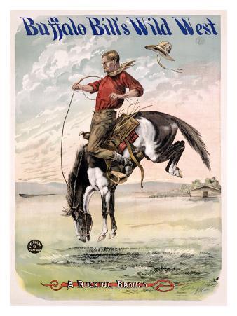 Buffalo Bill's Wild West, Bucking Bronco