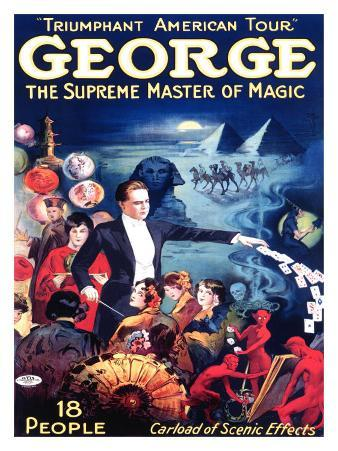 George the Supreme Master of Magic