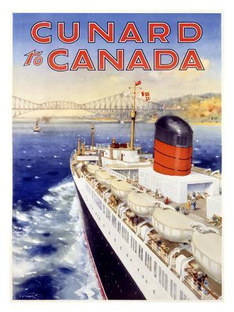Cunard Line, Canada