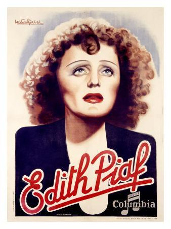 Edith Piaf, Disques Columbia