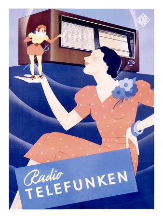 Telefunken Radio, c.1938