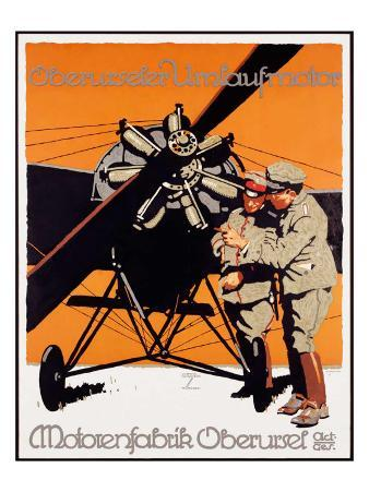 WWI, Motorenfabrik Oberursel