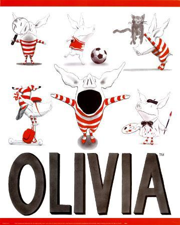 Olivia, Busy Little Piggy