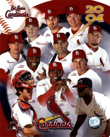 2004 Cardinals Team Composite