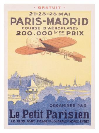 Paris-Madrid, Le Petit Parisien