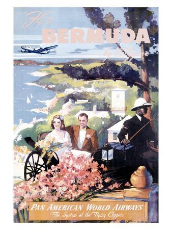 Pan Am Clipper to Bermuda