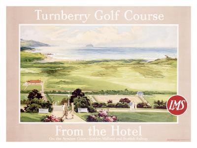 London Midland Scotland Railway, Turnberry Golf Course
