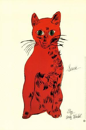 Red Cat from Twenty-Five Cats