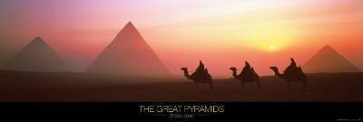 The Great Pyramids, El Giza, Egypt