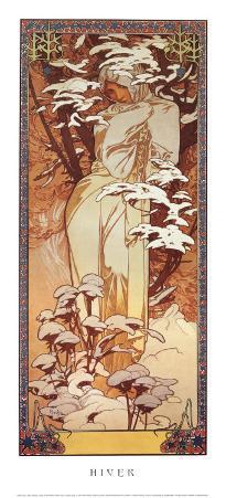 Hiver, 1900
