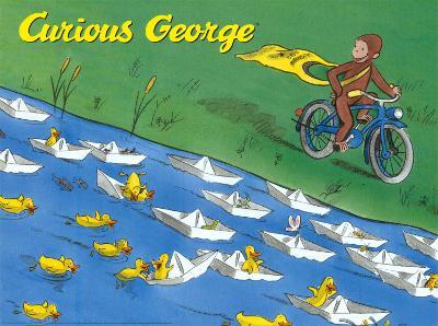 Curious George on Bike