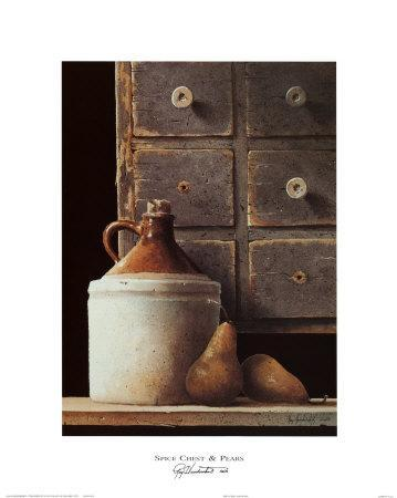 Spice Chest and Pears