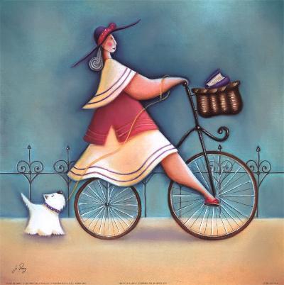 Bicycle Lady I