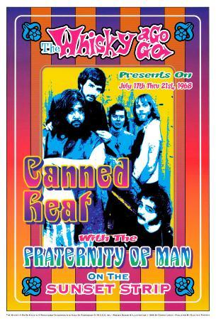 Canned Heat and Fraternity of Man at the Whiskey A-Go-Go