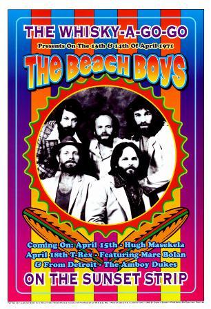 The Beach Boys at the Whiskey A-Go-Go