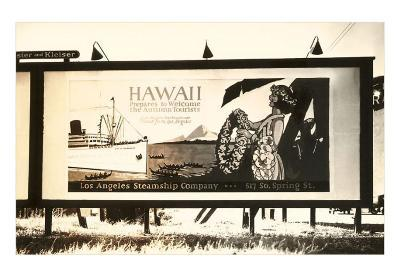 Hawaii Billboard