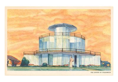 House of the Future, Illustration
