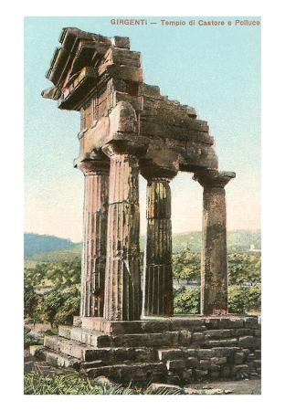 Agrigento, Greek Doric Ruin