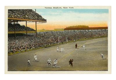 Early Yankee Stadium, New York