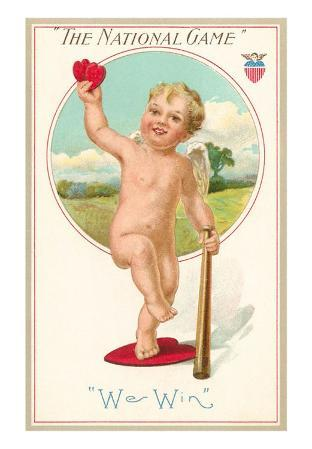 The National Game, We Win Cherub, Illustration