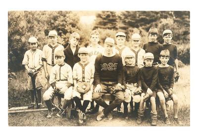 Baseball Team Photo, 1925