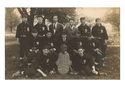 Old Baseball Team Photo