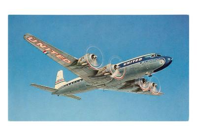 United Prop Plane