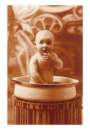 Baby in Pot