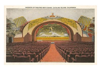 Casino Interior, Catalina, California