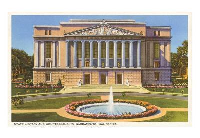 State Library, Sacramento, California