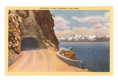 Cave Rock Tunnel, Lake Tahoe