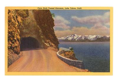Cave Rock Tunnel, Lake Tahoe