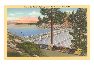 Big Bear Lake Dam, California