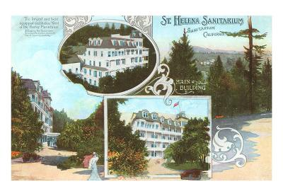 St. Helena Sanitarium, Calistoga, California