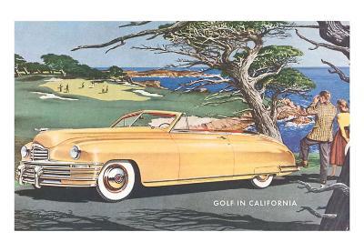 Car at Golf Course