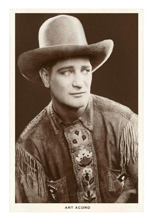 Art Acord, Cowboy