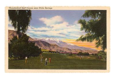 Thunderbird Golf Course, Palm Springs, California