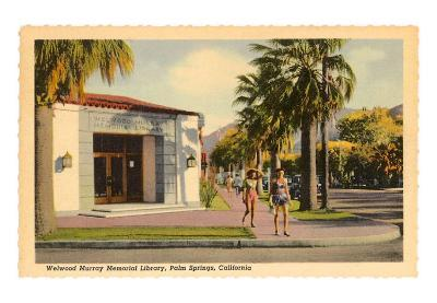 Library, Palm Springs, California