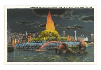 Buckingham Fountain, Chicago, Illinois
