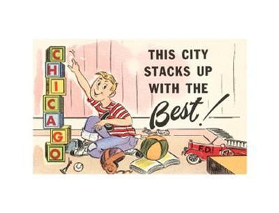 This City Stacks, Chicago, Illinois
