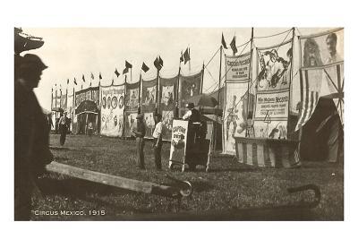 Circus Mexico, 1915