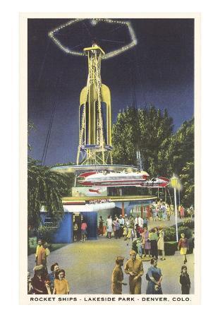 Rocket Ships, Lakeside Park, Denver, Colorado